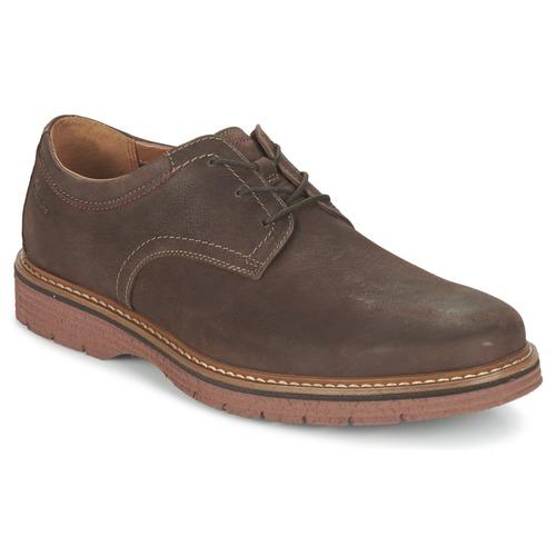 Παπούτσια Άνδρας Derby Clarks NEWKIRK PLAIN Brown