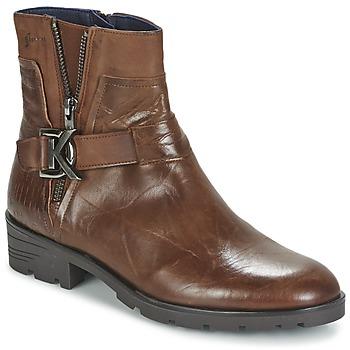 Παπούτσια Γυναίκα Μπότες Dorking NALA Brown