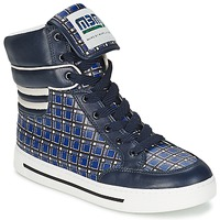 Παπούτσια Γυναίκα Ψηλά Sneakers Marc by Marc Jacobs CUTE KIDS MINI TOTO PLAID Μπλέ / Multicolour