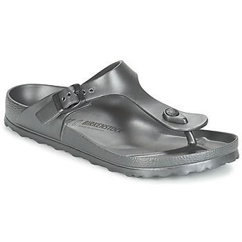 Παπούτσια Γυναίκα Σαγιονάρες Birkenstock GIZEH EVA Anthracite / Μεταλικό