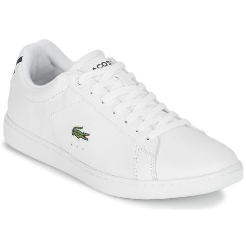 Παπούτσια Γυναίκα Χαμηλά Sneakers Lacoste CARNABY EVO BL 1 Άσπρο