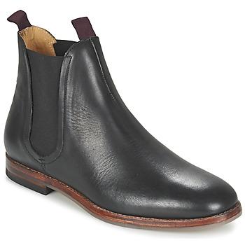 Παπούτσια Άνδρας Μπότες Hudson TAMPER CALF Black