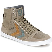 Παπούτσια Ψηλά Sneakers Hummel TEN STAR DUO OILED HIGH Brown