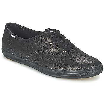 Παπούτσια Γυναίκα Χαμηλά Sneakers Keds CH METALLIC CANVAS Black