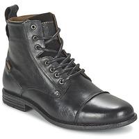 Παπούτσια Άνδρας Μπότες Levi's EMERSON LACE UP Black