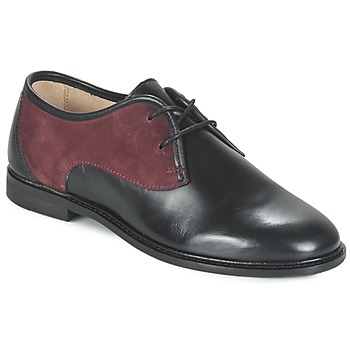 Παπούτσια Γυναίκα Derby M. Moustache EUGENIE Black / Bordeaux