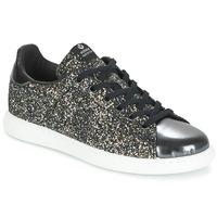 Παπούτσια Γυναίκα Χαμηλά Sneakers Victoria DEPORTIVO BASKET GLITTER Black