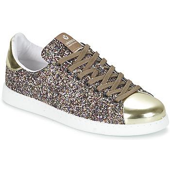Παπούτσια Γυναίκα Χαμηλά Sneakers Victoria DEPORTIVO BASKET GLITTER Multicolour