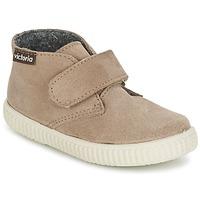 Παπούτσια Παιδί Ψηλά Sneakers Victoria SAFARI SERRAJE VELCRO TAUPE
