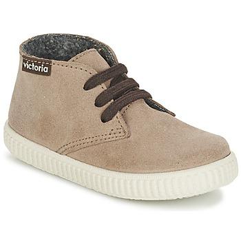 Παπούτσια Παιδί Ψηλά Sneakers Victoria SAFARI SERRAJE KID TAUPE