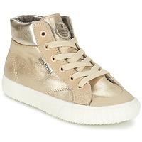 Παπούτσια Κορίτσι Ψηλά Sneakers Victoria BOTA METALIZADA PU Gold