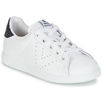 Παπούτσια Κορίτσι Χαμηλά Sneakers Victoria DEPORTIVO BASKET PIEL KID Άσπρο
