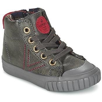Παπούτσια Παιδί Ψηλά Sneakers Victoria BOTA NAPA PU Grey