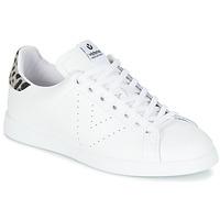 Παπούτσια Γυναίκα Χαμηλά Sneakers Victoria DEPORTIVO BASKET PIEL Άσπρο