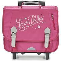 Τσάντες Κορίτσι Σχολικές τσάντες με ροδάκια Ikks LOVE IKKS TROLLEY CARTABLE 38CM ροζ