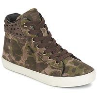 Παπούτσια Κορίτσι Ψηλά Sneakers Geox KIWI GIRL Green