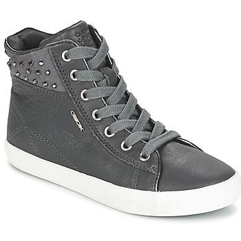 Παπούτσια Κορίτσι Ψηλά Sneakers Geox KIWI GIRL Grey