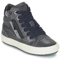Παπούτσια Κορίτσι Ψηλά Sneakers Geox WITTY Grey