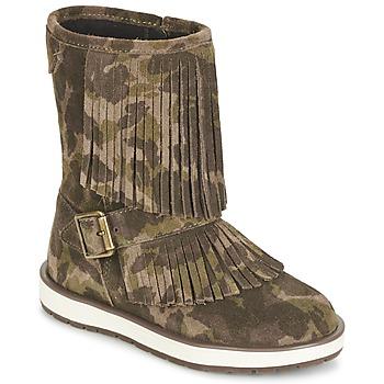 Παπούτσια Κορίτσι Μπότες Geox NOHA Green