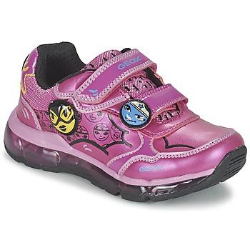 Παπούτσια Κορίτσι Χαμηλά Sneakers Geox ANDROID GIRL ροζ