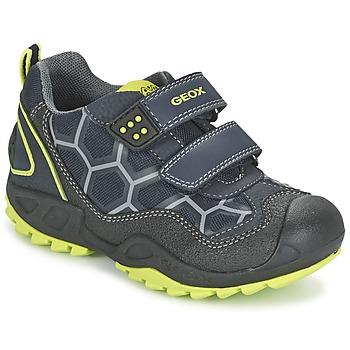 Παπούτσια Αγόρι Χαμηλά Sneakers Geox NEW SAVAGE BOY μπλέ / Yellow