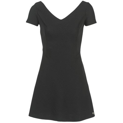Υφασμάτινα Γυναίκα Κοντά Φορέματα Les P'tites Bombes GRANADU Black