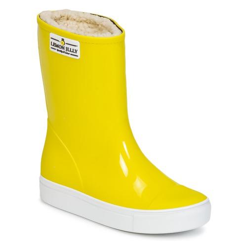 Παπούτσια Κορίτσι Μπότες βροχής Lemon Jelly FAIRY Yellow