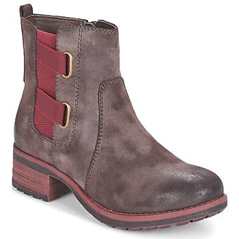 Παπούτσια Γυναίκα Μπότες Rieker ZINETTE Brown