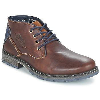 Παπούτσια Άνδρας Μπότες Rieker RELUBE Brown