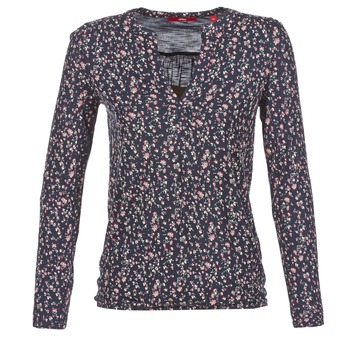 Υφασμάτινα Γυναίκα Μπλουζάκια με μακριά μανίκια S.Oliver INIATE MARINE