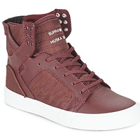 Παπούτσια Ψηλά Sneakers Supra SKYTOP Bordeaux