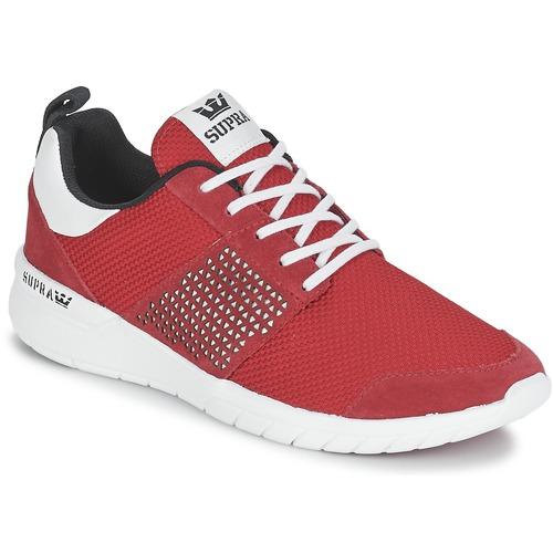 Παπούτσια Χαμηλά Sneakers Supra SCISSOR Red