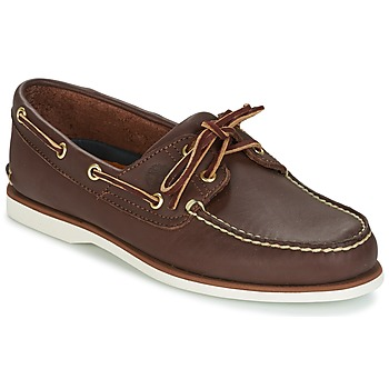 Παπούτσια Άνδρας Boat shoes Timberland CLASSIC 2 EYE Brown