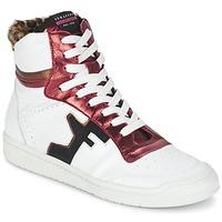 Παπούτσια Γυναίκα Ψηλά Sneakers Serafini SAN DIEGO Άσπρο / Red
