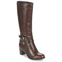 Παπούτσια Γυναίκα Μπότες για την πόλη Moony Mood FARANDO Brown