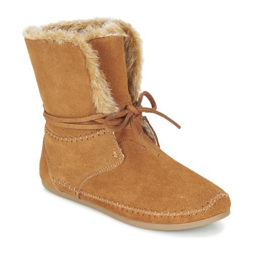 Παπούτσια Γυναίκα Μπότες Toms ZAHARA Brown