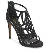Παπούτσια Γυναίκα Σανδάλια / Πέδιλα Ravel BLANCO Black / ΣΑΤΕΝ