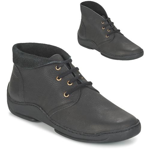 Παπούτσια Γυναίκα Μπότες Arcus MOKALA Black