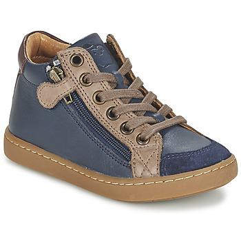 Παπούτσια Παιδί Ψηλά Sneakers Shoo Pom PLAY HIBI ZIP Marine / Taupe