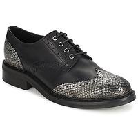 Παπούτσια Γυναίκα Derby Koah LESTER Μαυρο / Ασημι