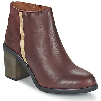 Παπούτσια Γυναίκα Μποτίνια Casual Attitude FELICITA Bordeauxx