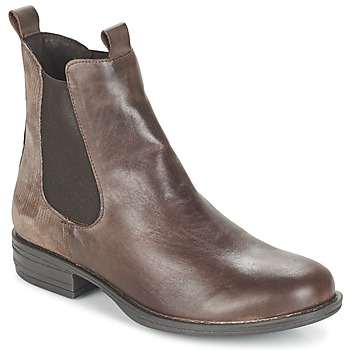 Παπούτσια Γυναίκα Μπότες Casual Attitude FENDA TAUPE