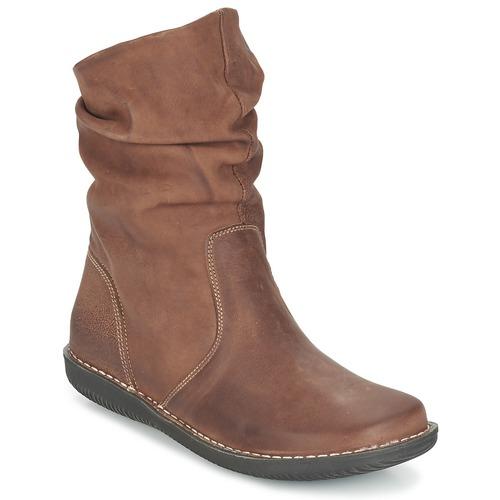 Παπούτσια Γυναίκα Μπότες Casual Attitude FILLY Brown