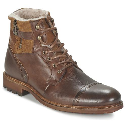 Παπούτσια Άνδρας Μπότες Casual Attitude FIRDAOUS Brown