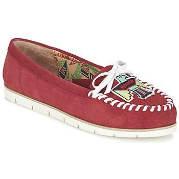 Παπούτσια Γυναίκα Μοκασσίνια Miss L'Fire YHUNDERBIRD Red