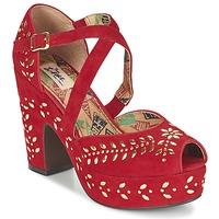 Παπούτσια Γυναίκα Σανδάλια / Πέδιλα Miss L'Fire SELINA Red