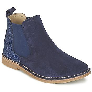Παπούτσια Κορίτσι Μπότες Citrouille et Compagnie FIGOULI Μπλέ