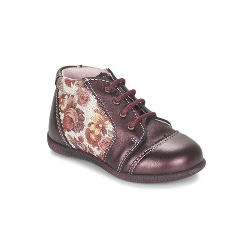 Παπούτσια Κορίτσι Μπότες Citrouille et Compagnie FRICOL Violet