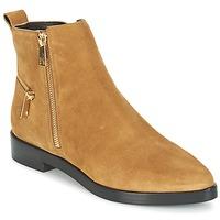 Παπούτσια Γυναίκα Μπότες Kenzo TOTEM FLAT BOOTS Camel