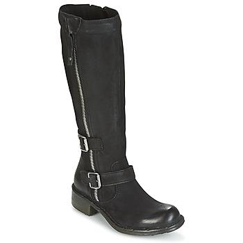 Παπούτσια Γυναίκα Μπότες για την πόλη Dream in Green RAZINE Black